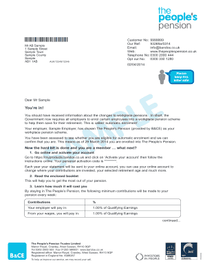 65224860 Opt Out Pension Letter Template on permission slip for school, form for meals, training waiver, pension email, participating form,