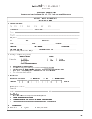 Hotel reservation form fill online printable fillable blank hotel reservation form thecheapjerseys Choice Image