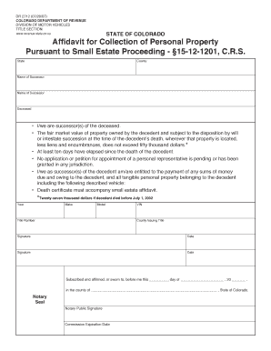 Colorado Personal Property Bill Of Sale Download Free Trueefiles