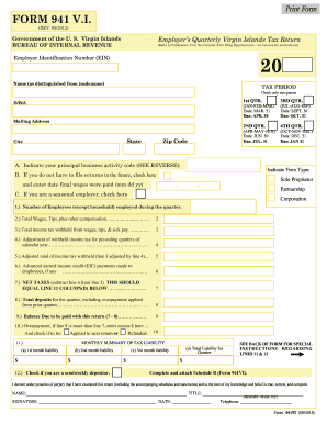 2012 Form 941 Templates - Fillable & Printable Samples for PDF ...