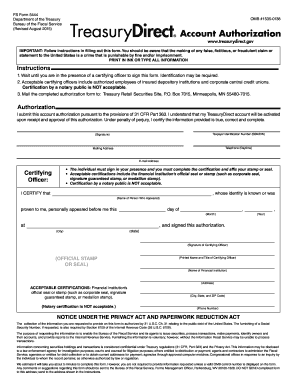 treasury direct form 5444 to Download - Editable, Fillable