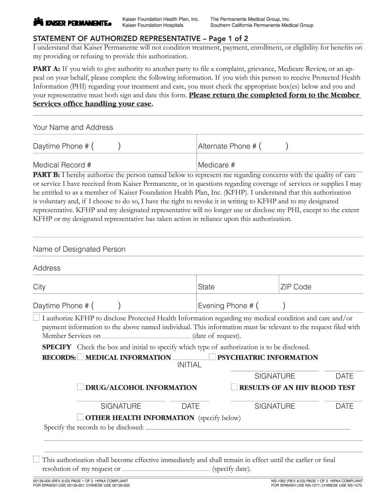 Kaiser Permanente Medical Records Online