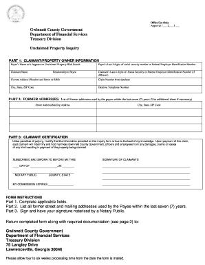 gwinnett county probate court vital records - Edit & Fill