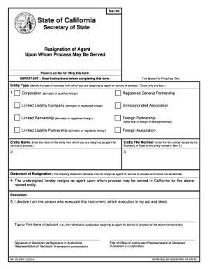 Printable Resignation letter sample doc - Edit, Fill Out ...