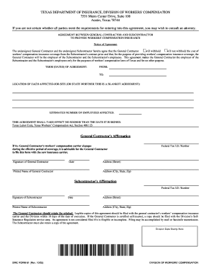 Editable General contractor agreement - Fill, Print & Download ...