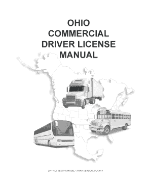 ohio commercial drivers license manual