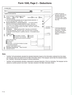 form 1040 que es  Fillable Online apps irs Form 112, Page 12 Deductions - apps ...