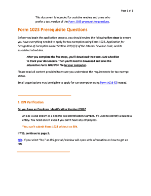 interactive form 1023 Templates - Fillable & Printable Samples for ...