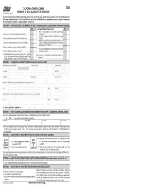 Fillable Online dmv ca DL 410 FO, California Driver License Renewal