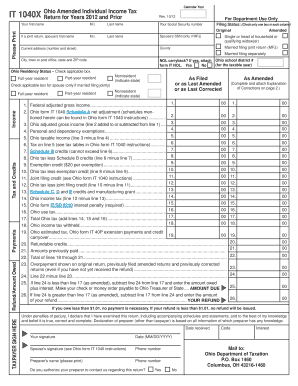 Printable Form 1040 instructions - Fill Out & Download Top Gov ...