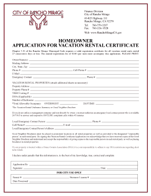 Fillable Vacation Rental Agreement Vrbo Edit Print