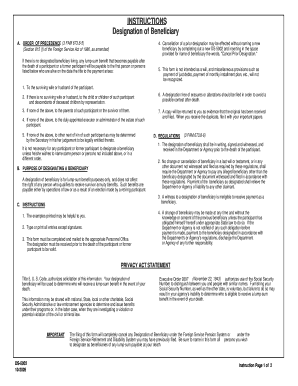 Fillable beneficiary wording - Edit, Print & Download ...
