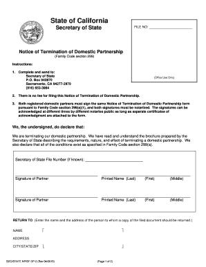 California Registered Fill Online Printable Fillable