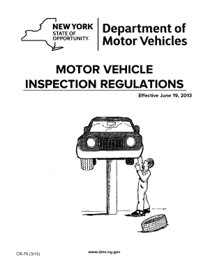 Fillable Online Motor Vehicle Inspection Fax Email Print