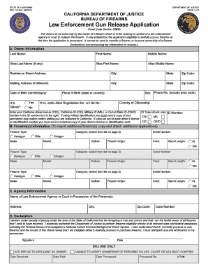 california gun permit application online