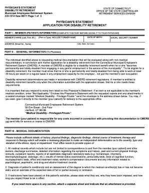 Fillable Online Osc Ct Physician 39 S Statement Application