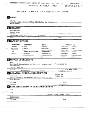 sta inventory form