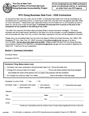 Contractors business forms - Edit, Fill, Print & Download Online ...