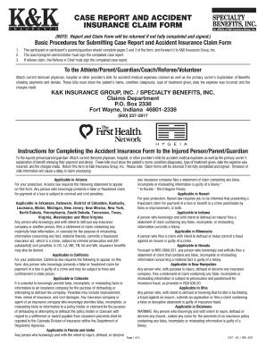 Usa Hockey Insurance Claim - Fill Online, Printable ...