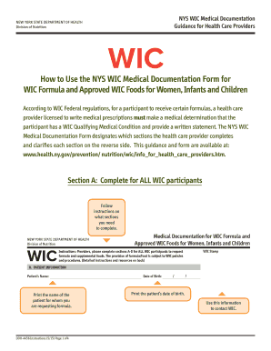 Texas Wic Medical Request Form