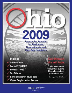 Irs 1040ez instructions booklet.