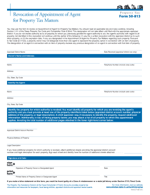 appointment of tax agent form