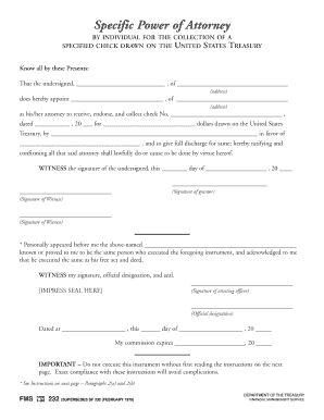 9 printable specific power of attorney template forms. Black Bedroom Furniture Sets. Home Design Ideas