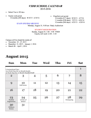 2015-16 Academic Calendar - Long Form (PDF version) - vsdbs virginia