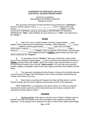 FORM   Purchase And Sale Agreement   Raw Law   Seller Oriented   Simple    Arbitration