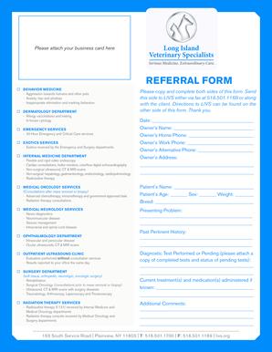 Fillable Online livs org%2findex REFERRAL FORM - Long Island