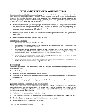 20 Printable Indemnity Agreement Real Estate Forms And