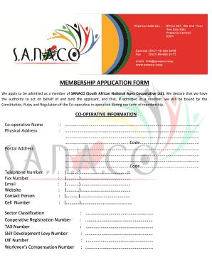 Ngo membership form sample templates fillable printable samples sanaco pdf form thecheapjerseys Choice Image