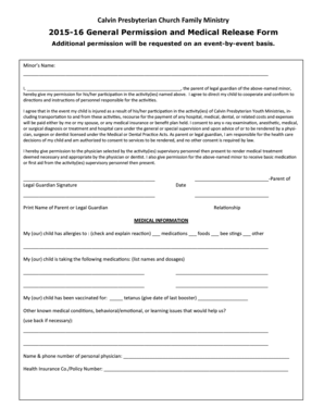 Bill Of Sale Form New York Medical Release Form For Minor Child ...