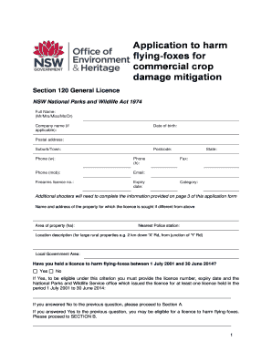 company licence application form nsw
