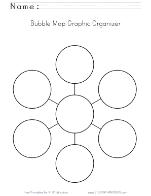 Submit bubble map printable PDF Forms and Document Samples   bubble
