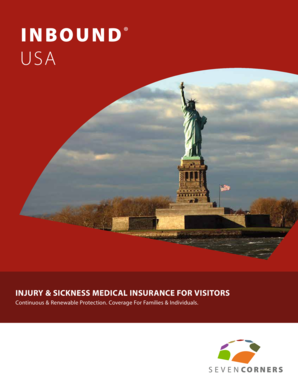 USA Brochure - Travel Health Quote