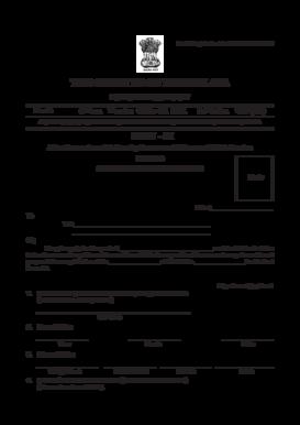 meghalaya gazette standard form 2019  Fillable Online megpns gov PART - IX Advertisements and ...