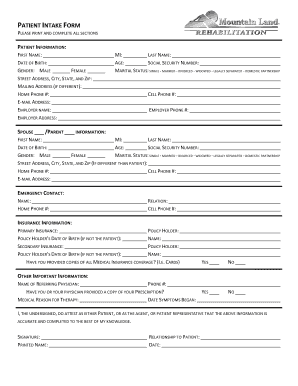 editable free patient intake form template fill out print download court forms in word. Black Bedroom Furniture Sets. Home Design Ideas