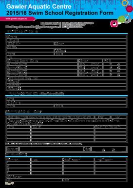 Sunday School Registration Form Templates Fillable Printable Samples For Pdf Word Pdffiller