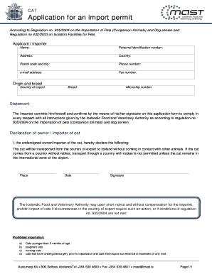Fillable import export procedure pdf - Edit Online