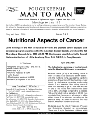Fillable online nutritional aspects of cancer boodrow fax fill online sciox Image collections