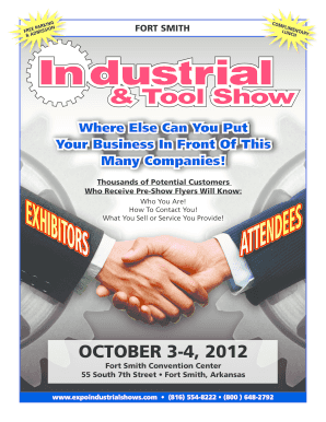 Download brochure - EXPO, Inc. Industrial Trade Shows