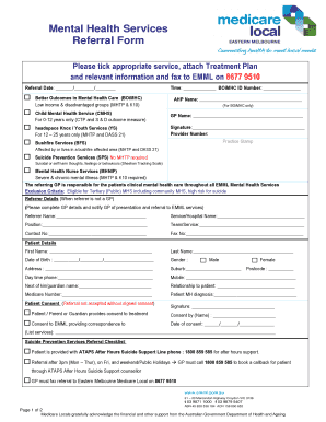 18 Printable mental health treatment plan template Forms ...