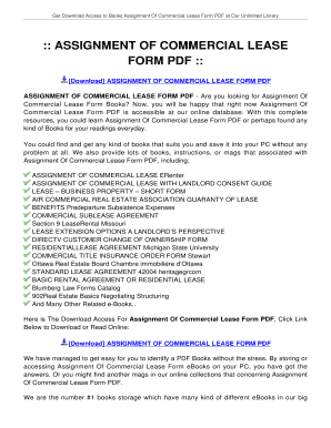 Lease pdf commercial