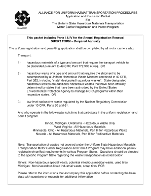 Get form vsd 190 state illinois pdf forms and document for Motor carrier permit renewal application