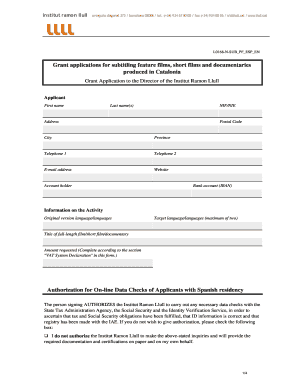 documentary film budget template - Editable, Fillable & Printable