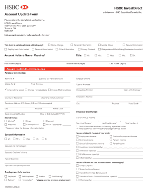 Fillable hsbc branch near me Form Samples to Complete Online in PDF