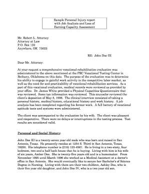demand letter sample personal injury