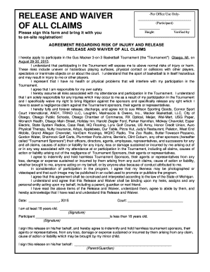 gus macker waiver form