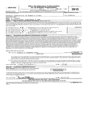 Fillable Online gfwc View or download FY 2014 Form 990 ...